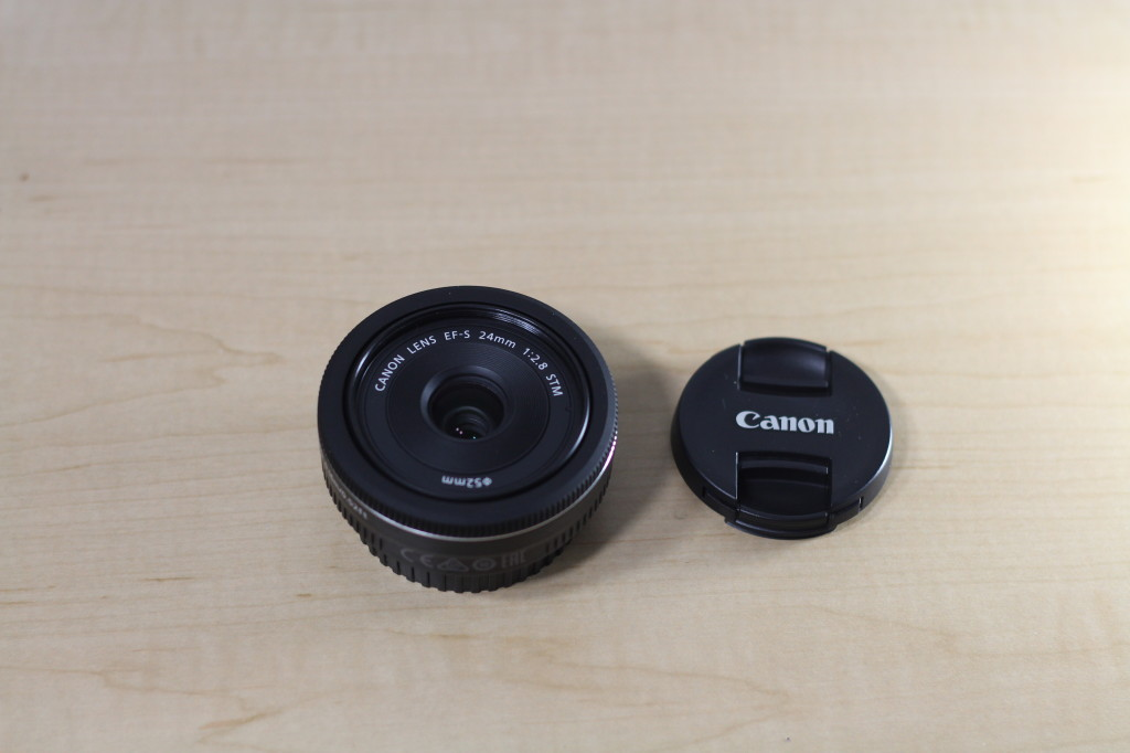 Canon EFS 24MM STM Front Lens Element