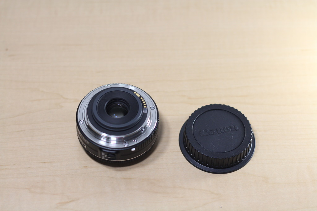 Canon EFS 24MM STM Rear Lens Element